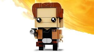 Han Solo LEGO Brickheadz