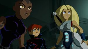 James, Torunn and Azari (What is this)