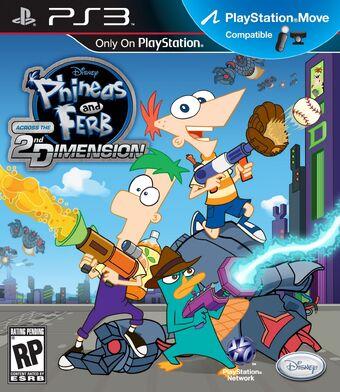 Phineas Y Ferb A Través De La Segunda Dimensión Videojuego Phineas Y Ferb Wiki Fandom