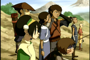 Team Avatar & Freedom Fighters in Lake Laogai