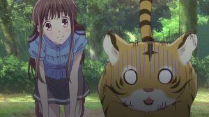 Tohru & Kisa (Tiger form)