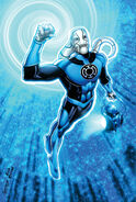3111917-blue lantern saint walker