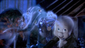 Casper and his uncles, The Ghostly Trio