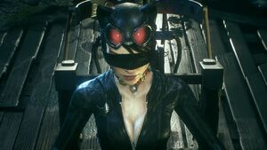 Catwomanblindfolded