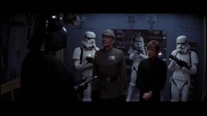 Darth Vader goads