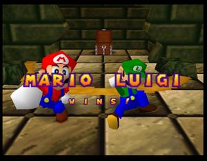 Mario party 64 luigi and mario