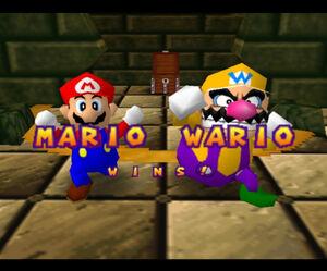 Mario party 64 mario and wario