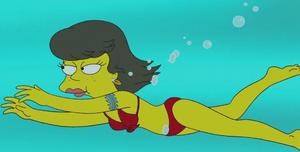 Shauna Chalmers swimming