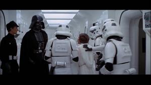 Darth Vader sends