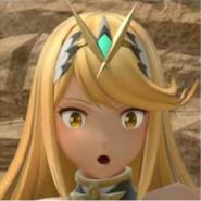 Mythra kamikazee reaction