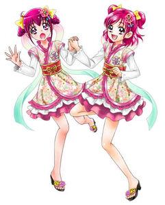 Peace star full art - miyuki&nozomi