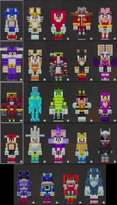 Minecraft-Sonic-Skins