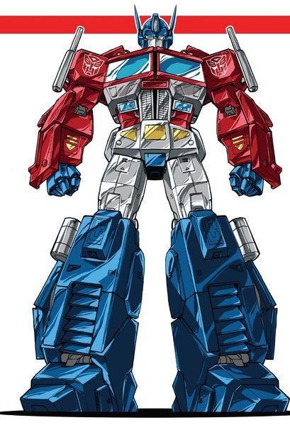 Optimus Prime (IDW Comics)