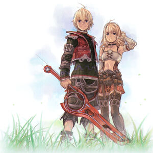 Shulk and Fiora