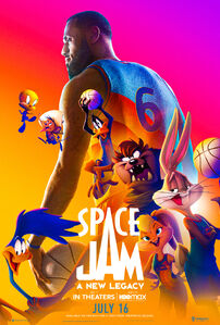 Space Jam A New Legacy teaser poster 2