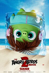 Courtney (The Angry Birds Movie 2 character poster)
