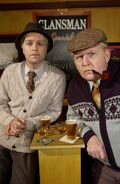 Jack and Victor in the Clansman