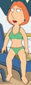 Lois griffin (green bikini)