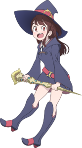 Akko kagari by chuunie-dbtty24