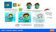 Courtney - Angry Birds Tennis Concept art