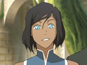 Korra cut hair without