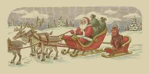 Krampus & Santa Claus