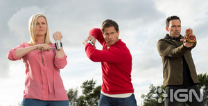 Tommy Wes and Kathrine Super Ninja Steel