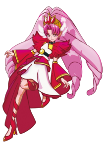 Hugtto! Precure Movie Cure Scarlet Pose