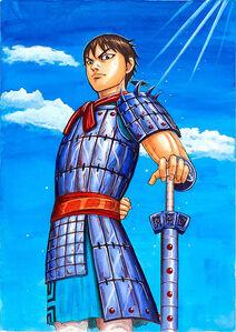 Shin the Monstrous Swordsman of the Hi Shin Unit Kingdom