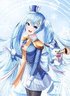 Yande.re 662751 hatsune miku pantyhose ryon y0421 uniform vocaloid yuki miku