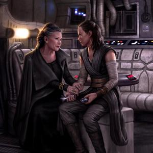 Leia Rey Star Wars Destiny