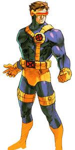 Marvel vs Capcom 2 Cyclops