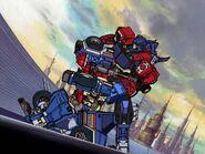 Optimus faces Ironhide (Energon)