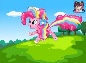 Pinkie Pie Rainbow Power
