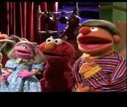 Prairie Elmo and Ernie