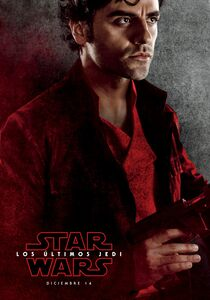 The Last Jedi Poe Spanish Character Poster