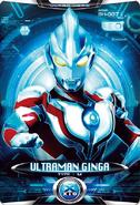 Ultraman X Ultraman Ginga Card