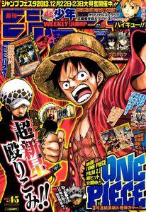 Weekly Shonen Jump No. 4-5 (2013)