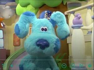 Blue's clues blue's room blue 312321