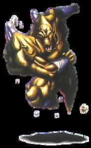 Demon's Crest - Firebrand in his Earth Gargoyle form