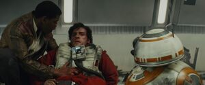 Finn, Poe and BB-8 (TLJ)