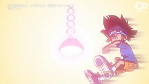 Koromon evolve to Agumon