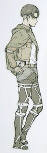 Levi side view