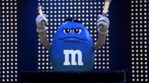 M&M's - Blue Man (2011, USA)