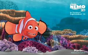 Marlin Finding Nemo 3D