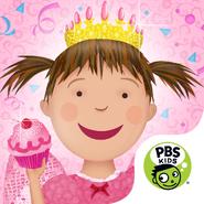 Pinkalicious Party Icon - 1024 x 1024
