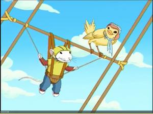 Stuart and margalo on the kite