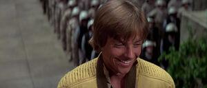Luke Skywalker giggling