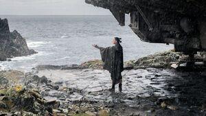 Rey in the rain