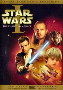 The Phantom Menace DVD